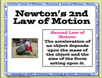 newton s laws of motion posters and task cards by lolly s locker