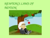Newton's Laws of Motion Power Point