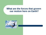 Newton's Laws of Motion PowerPoint Presentation