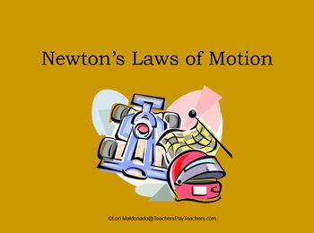 Newton's Laws of Motion: PowerPoint Presentation