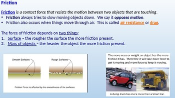 Newtons Laws of Motion Powerpoint