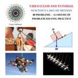 Newtons Laws of Motion Problem Solving Video Exam and Tutorial
