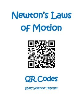 Newton's Laws of Motion QR Codes