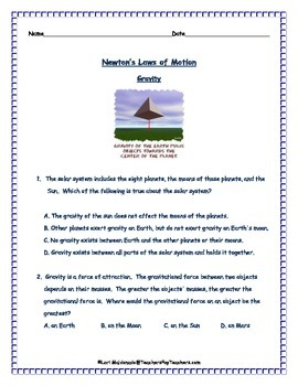 Newton's Laws of Motion: Review Questions
