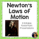 Newton's Laws of Motion SMART notebook presentations