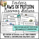 Newton's Laws of Motion Discovery Stations