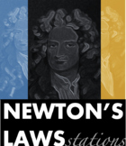 Newton's Laws of Motion Stations {Interactive and Fun!}