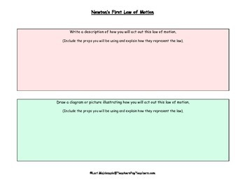 Newton's Laws of Motion: Team Presentation Project