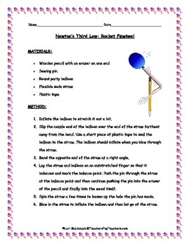 Newton's Laws of Motion: Third Law Lab