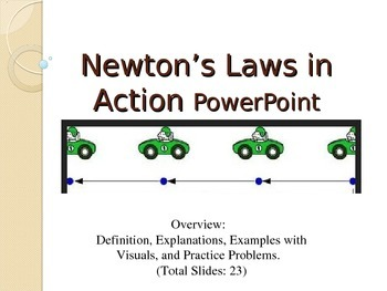 Newton's Laws of Motion in Action PowerPoint