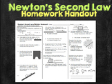 Newtons Second Law Worksheet