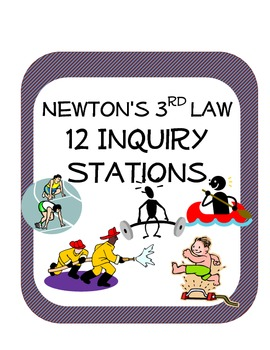 newton s third law station science inquiry activities 12 stations