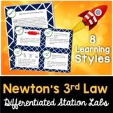 Newton's Laws - 3rd Law - Kesler Science Station Labs - Distance Learning