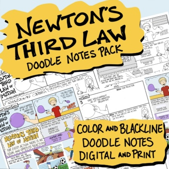 Newton's Third Law of Motion Comic
