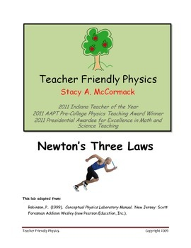 Newton's Three Laws Lab