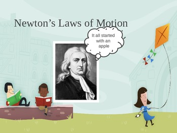 Newton's Three laws of Motion (Powerpoint)