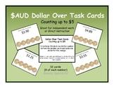Next AUSTRALIAN Dollar Up Task Cards ~ Special Education ~