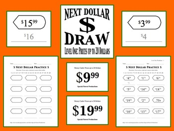 Next Dollar (Dollar Up) Draw: Level 1 (Prices up to 20 Dollars)