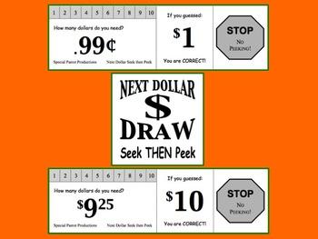 Next Dollar (Dollar Up) Seek then Peek