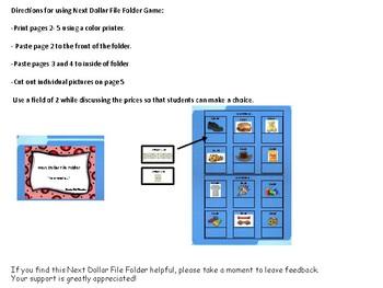Next Dollar File Folder