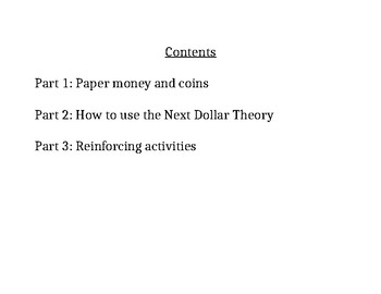 Next Dollar Theory