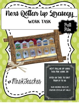 Next Dollar UP Strategy Task **Work Jig Task**Task Boxes**