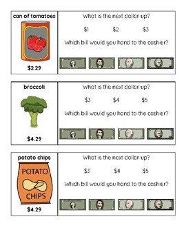 Next Dollar Up: Grocery Store