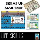 Next Dollar Up Summer Swim Shop Money Math Activity