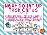 Next Dollar Up Task Cards Set 2- Money Resources