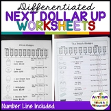 Next Dollar Up Worksheets: Distance Learning Compatible