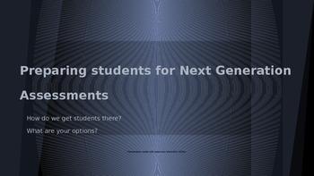 Next Gen. Assessment Power Point, PARCC & AIR
