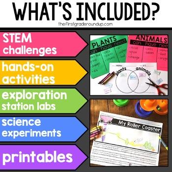 Next Gen Science *GROWING* Bundle for Kindergarten