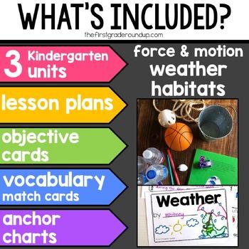 Next Gen Science BUNDLE for Kindergarten