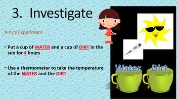 Next Gen Science:  Plants, Water, Light, and the Scientific Method