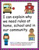 Next Generation K Social Studies Standards Posters Correlated to Journey's
