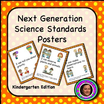 Next Generation Kindergarten Science Standards Posters