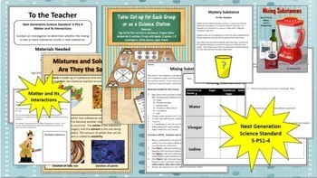 Next Generation Science Bundle: All 5th Grade Standards and Activities