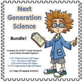 Next Generation Science Bundle: All 5th Grade Science Standards with Activities