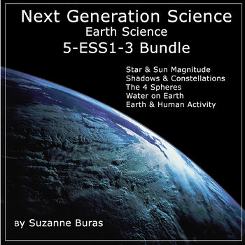 Next Generation Science: Earth Science Bundle 5-ESS1-3