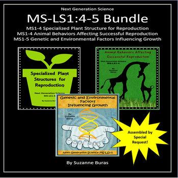 Next Generation Science MS-LS1:4-5 Bundle