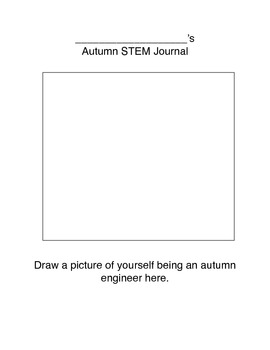 Next Generation Science Pre-K-2 Autumn STEM Journal