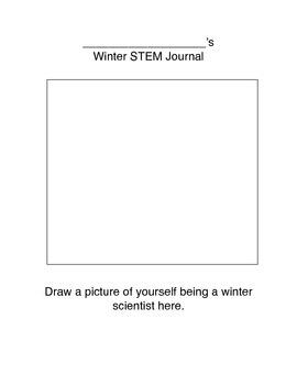 Next Generation Science Pre-K-2 Winter STEM Journal