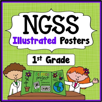 1st Grade I Can Statements - Next Generation Science Stand