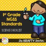 Next Generation Science Standards 1st Grade Checklist NGSS