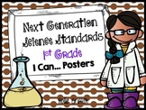 "Next Generation Science Standards 1st Grade ""I Can"" Posters"