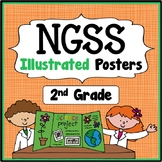 2nd Grade I Can Statements - Next Generation Science Stand