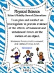 3rd Grade I Can Statements - Next Generation Science Stand