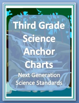 Next Generation Science Standards 3rd Grade Anchor Charts