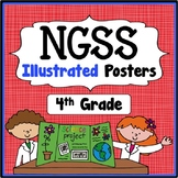 4th Grade I Can Statements - Next Generation Science Stand