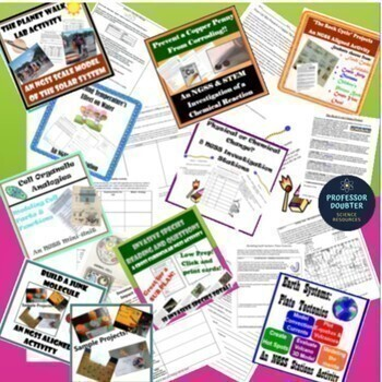 NGSS Next Generation Science Standards Middle School Resources Bundle!